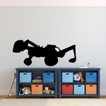 Toy Construction Digger Decal