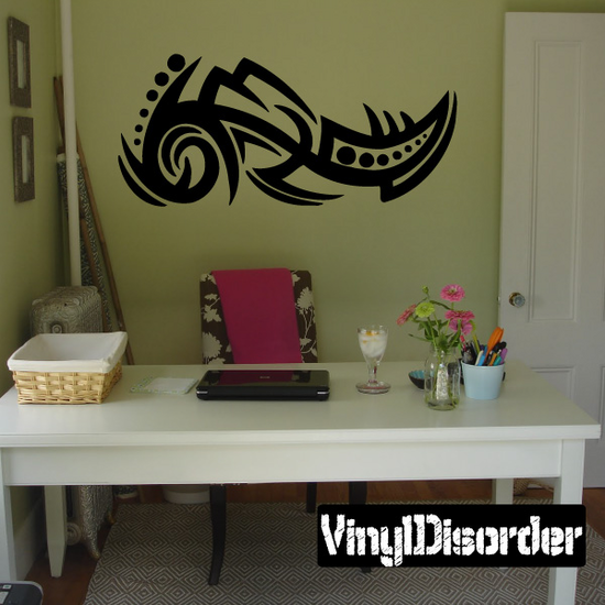 Classic Tribal Wall Decal - Vinyl Decal - Car Decal - DC 071