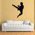 Leaping Kick Kung Fu Decal