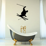 Skiiing Wall Decal - Vinyl Decal - Car Decal - 001