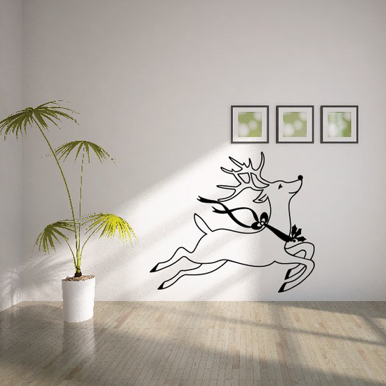 Rudolph The Red Nosed Reindeer Decal