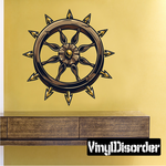 Torture Wheel Printed Decal