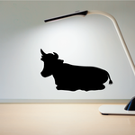 Cow Cattle Resting Down Decal
