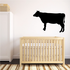 Angus Silhouette Standing Decal