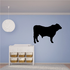 Patient Angus Cow Decal
