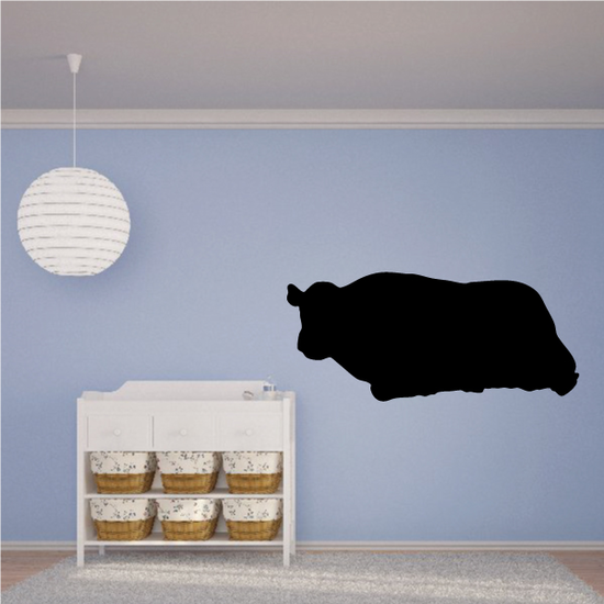 Cow Resting Silhouette Decal
