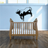 Cow Prancing Decal