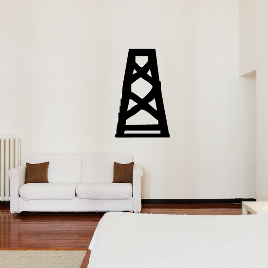Water Tower Frame Decal