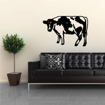 Holstein Cow Standing Decal