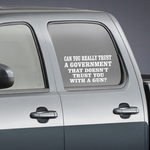 Can You Really Trust A Government Decal