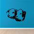 Two Cow Heads Decal