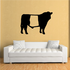 Belted Cow Cattle Decal