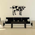 Spotted Holstein Cow Decal