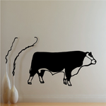 Hereford Cattle Cow Walking Decal