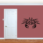 Cool Tribal Crab Decal