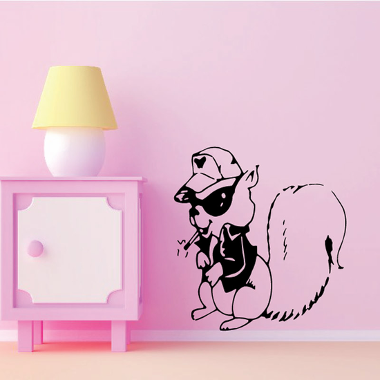 Cool Squirrel Decal