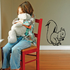 Squirrel Eating Decal
