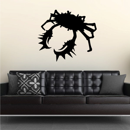 Spiny Spikey King Crab Decal