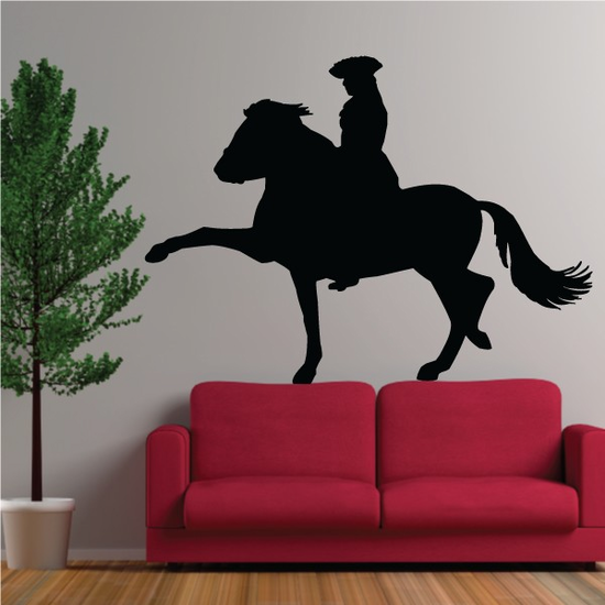 Spanish Trot Horse Decal