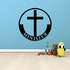 Minister Cross Decal
