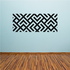 African Art Angled Pattern Decal