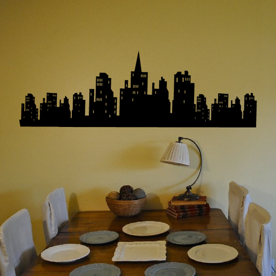 Skyline with Windows Decal