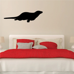 Swimming Otter Decal
