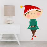 Dancing Elf Sticker