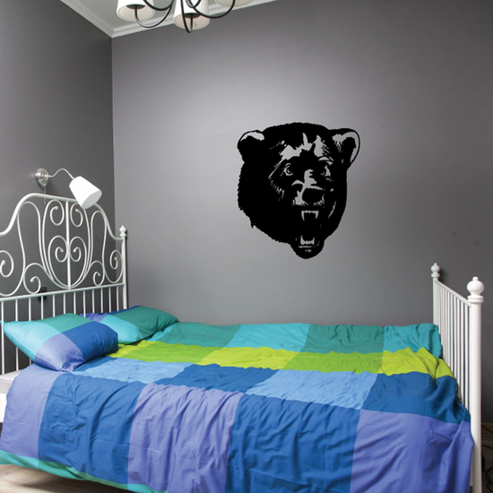 Snarling Bear Decal