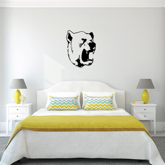 Growling Bear Decal