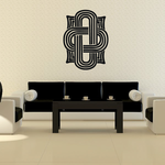 African Art Knot Pattern Decal