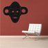 African Art Monkey Mask Decal