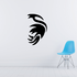 Abstract Pointed Feathered Bird Decal