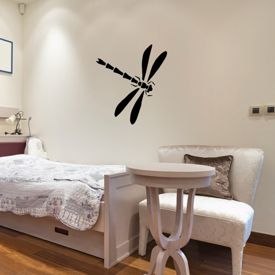 Lovely Flying Dragonfly Decal