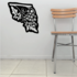 Flower Wall Decal - Vinyl Decal - Car Decal - CF23106