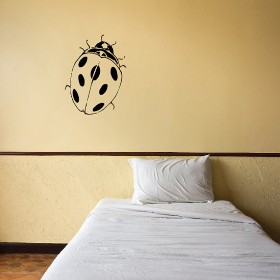 Cute Nature Lady Bug Decal