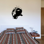 Close Up Insect Head Decal