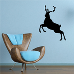 Reindeer Galloping Decal