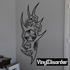 Tattoo Wall Decal - Vinyl Decal - Car Decal - DC 23075