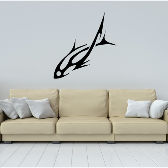 Tribal Fish Wall Decal - Vinyl Decal - Car Decal - DC727