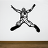 Leaping Out Skydiving Decal