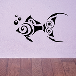 Tribal Fish Wall Decal - Vinyl Decal - Car Decal - DC728