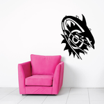 Fish Wall Decal - Vinyl Decal - Car Decal - DC515