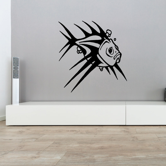 Fish Wall Decal - Vinyl Decal - Car Decal - DC516