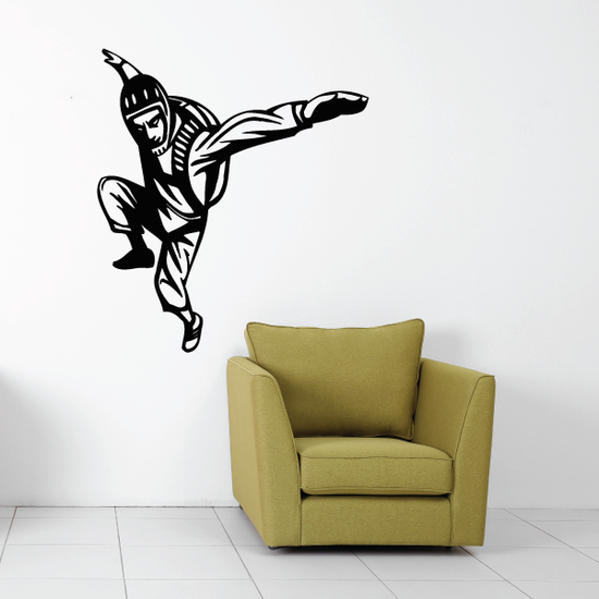 Skydiver Jumping out Decal