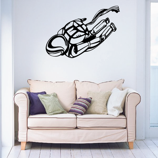 Soaring Through the Air Skydiving Decal
