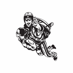 Skydiving Peace Sign Divers Decal