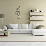 Spiked Head Seahorse Decal