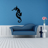 Abstract Slick Seahorse Decal