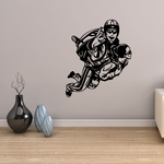 Skydiving Thrill Couple Decal
